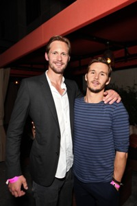 Alexander Skarsgard and Ryan Kwanten