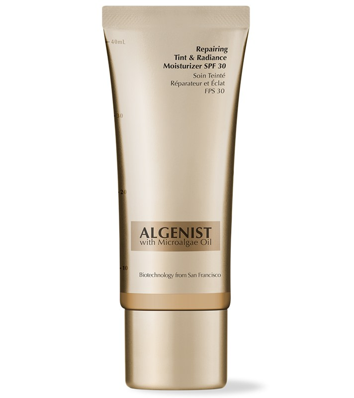 Best SPF-Filled Tinted Moisturizers For The Summer: Algenist Repairing Tint & Radiance Moisturizer Broad Spectrum SPF 30 | Summer Makeup 2017