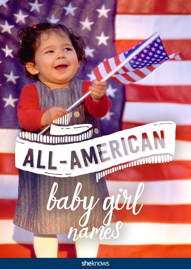 All-American baby girl names for your little patriot
