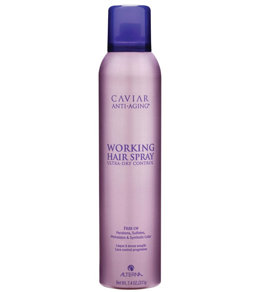 Best Anti-Aging Hair Products of 2017: Alterna Caviar Anti-Aging Working Hairspray