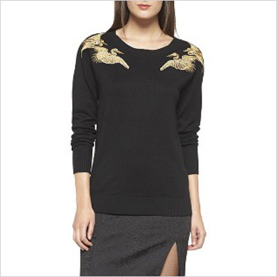 Altuzarra for Target Sweater with Crane Embroidery