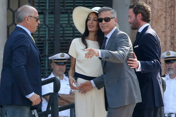 Amal Alamuddin is a fashion icon