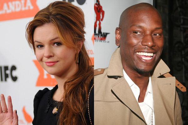 Amber Tamblyn punks Tyrese