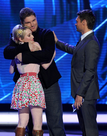 Alexis heads home on American Idol