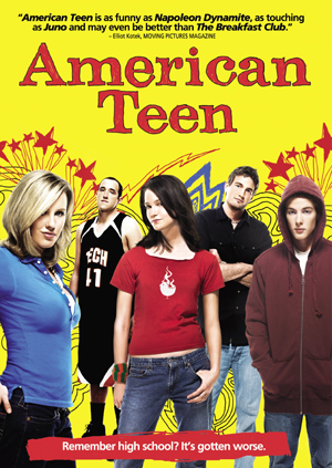 Hannah and her friends...American Teen DVD