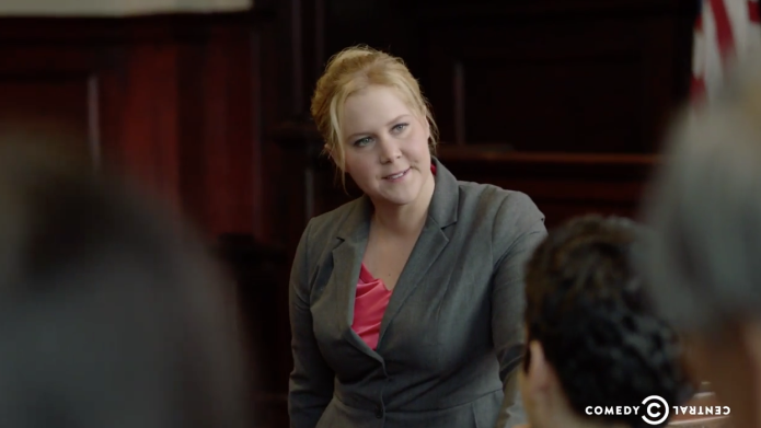 Amy Schumer tackles Bill Cosby scandal