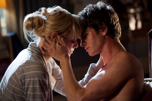 Andrew Garfield and Emma Stone, The Amazing Spider-Man