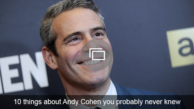 Andy Cohen slideshow