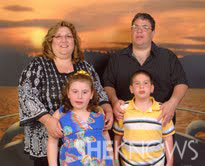 Angela Hanratty and family - Autism story
