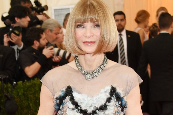 Anna Wintour at The Met Ball 2014