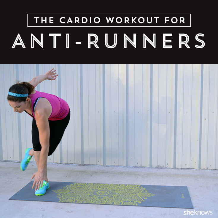 Cardio workout for Pinterest