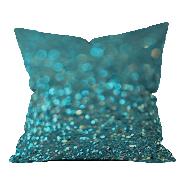 Glitter-Teal-Pillow