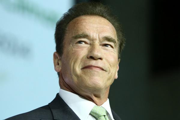 Arnold Schwarzenegger and the paparazzi