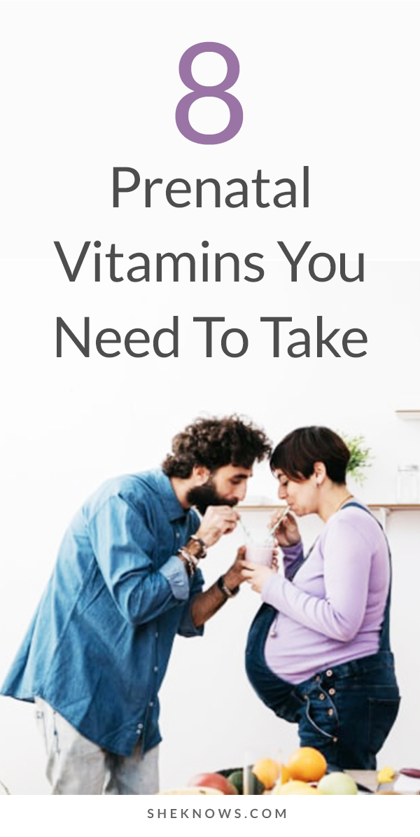 Pin it! Stocking Your Medicine Cabinet? Here Are the Prenatal Vitamins You Need to Take