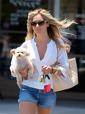 Ashley Tisdale and Maui