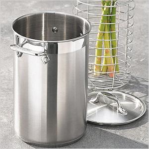 Asparagus pot with basket
