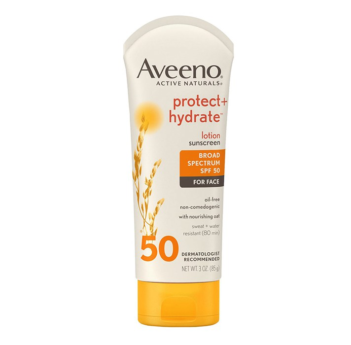Aveeno Protect + Hydrate Lotion SPF 50 For Face