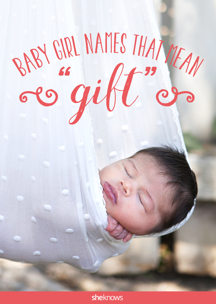 baby names that mean gift