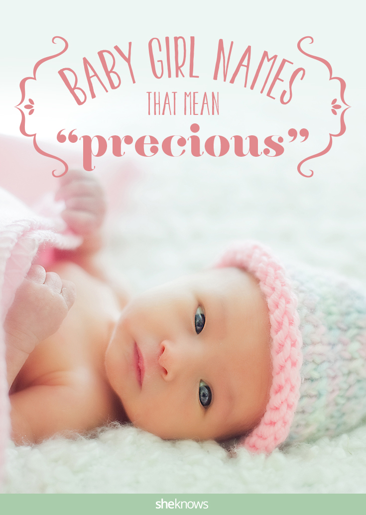 Baby girl names that mean precious