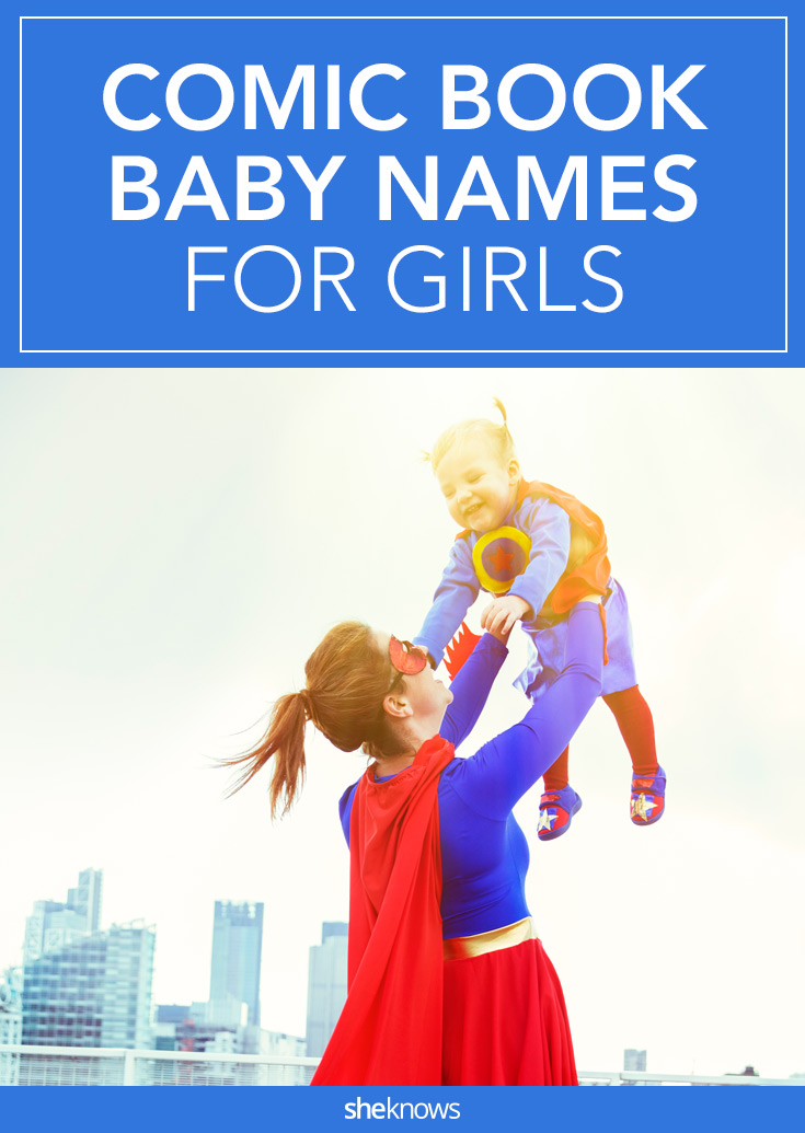 comic book baby names for girls
