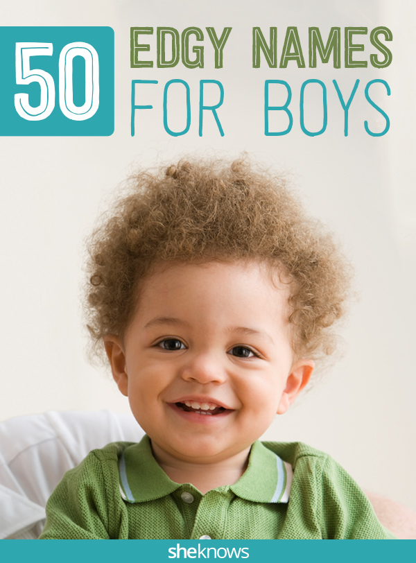 50 Edgy baby names for boys