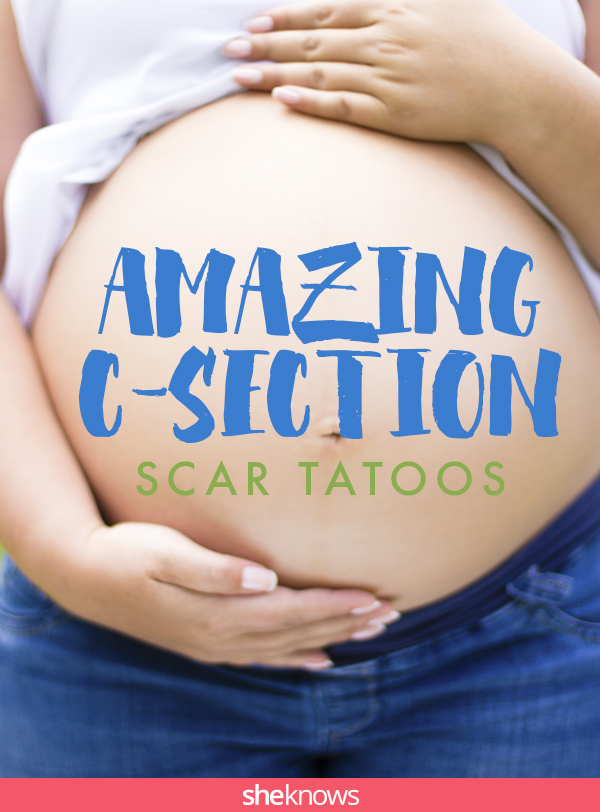 12 Breathtaking C-section scar tattoos