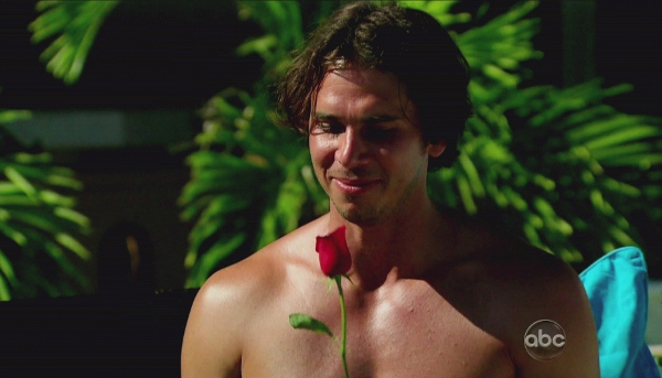 Bachelor Ben with rose