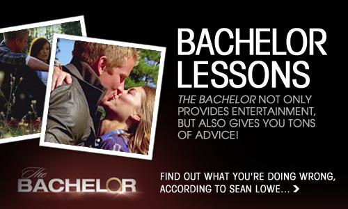 The Bachelor banner