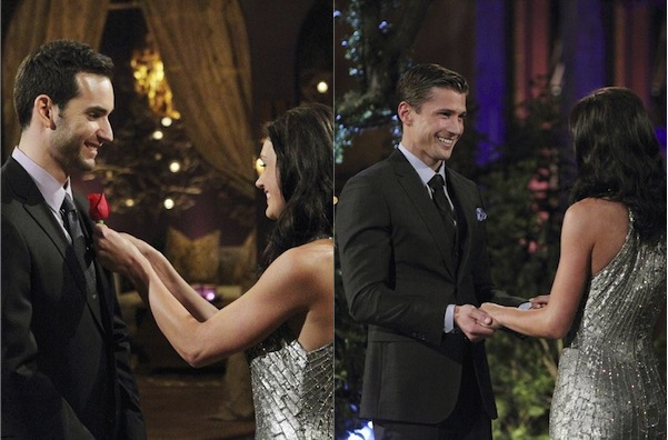 Drew and Chris on The Bachelorette