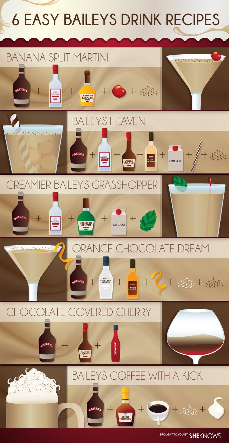 Baileys cocktail recipes