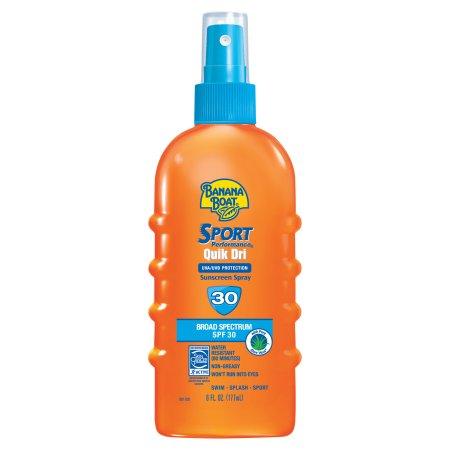 Banana Boat Sport Quik Dri scalp spray sunscreen
