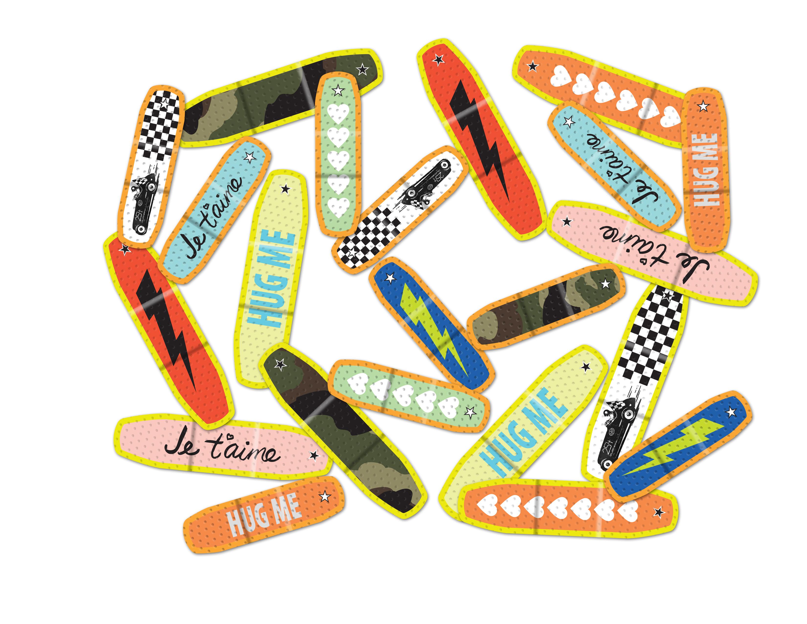 J. Crew designer Band-aids