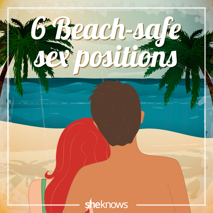 6 Beach-safe sex positions for a sexy summer