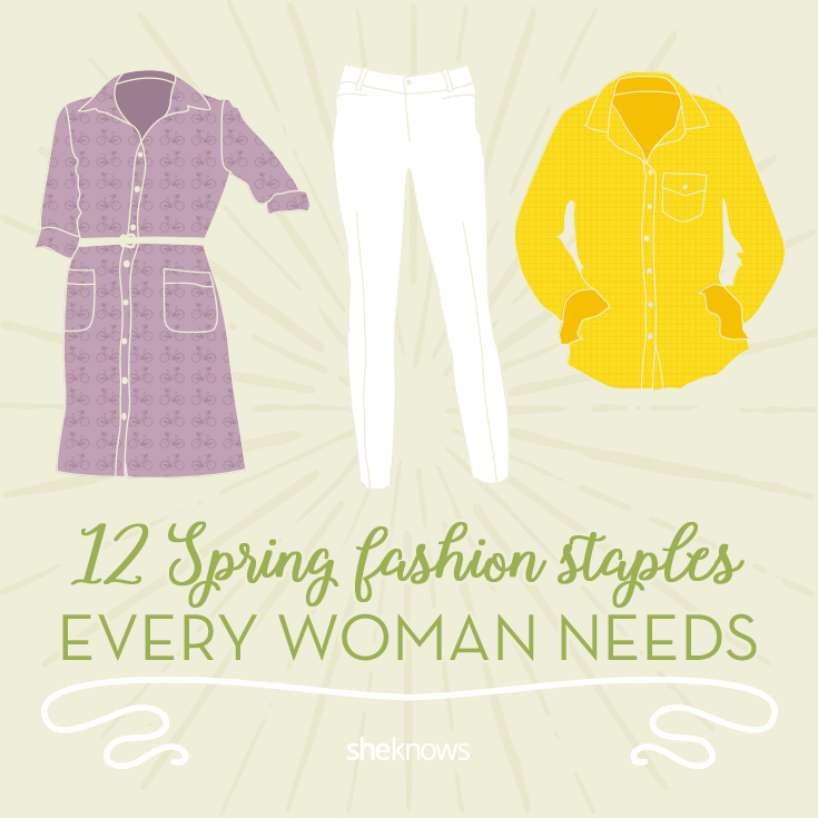12 Spring fashion staples every woman needs