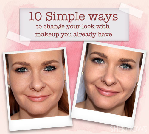 10 Simple ways to change your look with makeup you already have