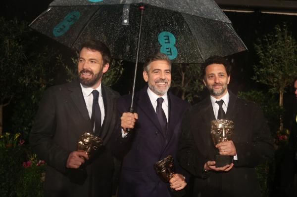 Ben Affleck George Clooney BAFTAs