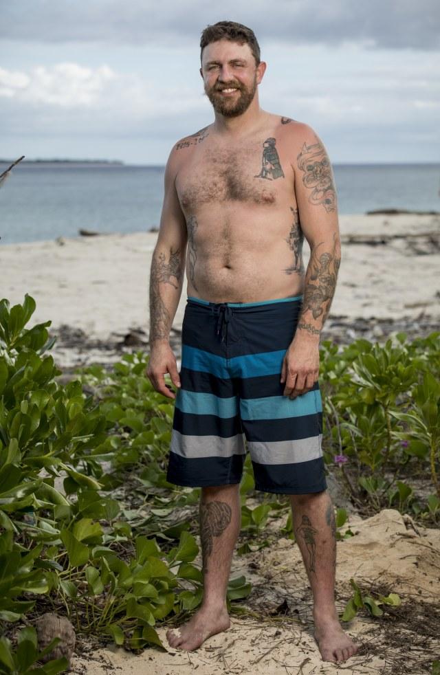 Ben Driebergen cast photo for Survivor: Heroes Vs. Healers Vs. Hustlers