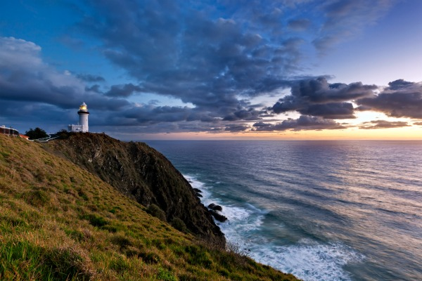 Sunset in Byron Bay, NSW