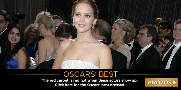Best dressed at the Oscars CTA