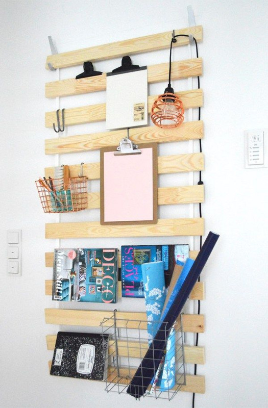 Best Ikea Hacks: A wall-mounted storage solution