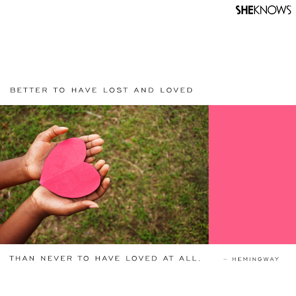 Hemingway love quote