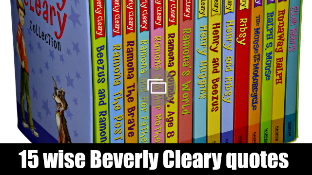 Beverly Cleary quotes