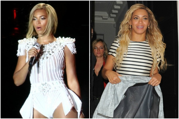 Beyoncé and celebrities who wear a hairpiece