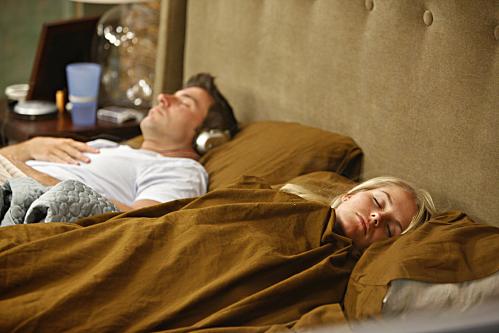 Jeff and Jordan take a nap on Big Brother 11