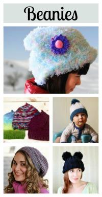 5 knit beanie tutorials