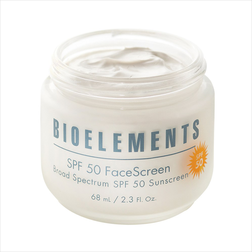 Best Sunscreens for Dry Skin: Bioelements SPF 50 FaceScreen