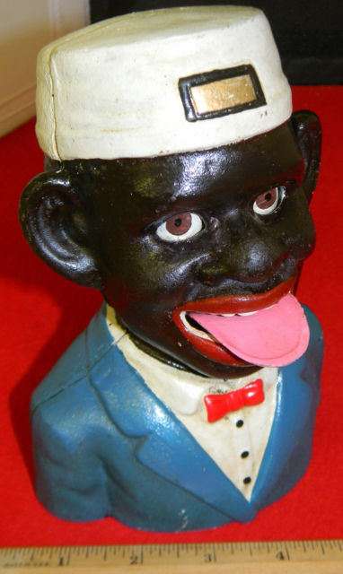 """Black Americana"" bellhop bank"