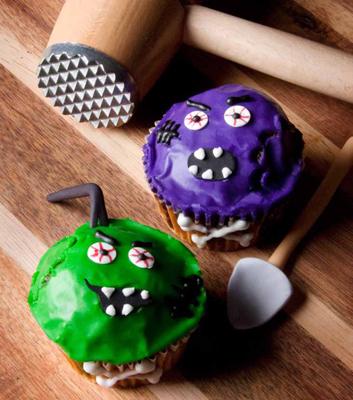 zombie cupcakes