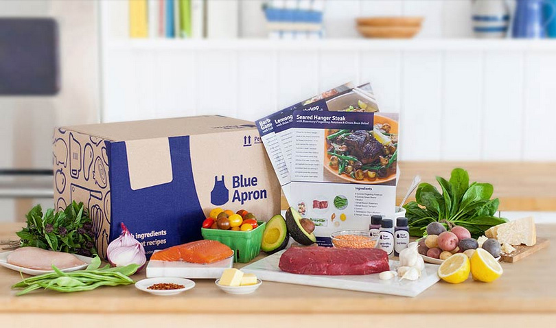 Blue Apron Meal Subscription Food