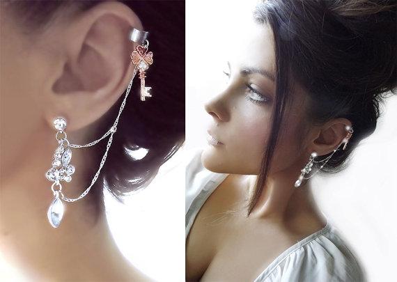 Bohemian ear cuffs